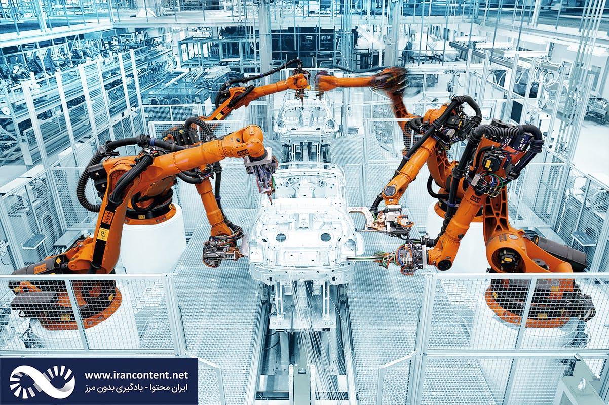 ربات های صنعتی هوشمند محصول شرکت کوکا رباتیکس - ایران محتوا - یادگیری بدون مرز