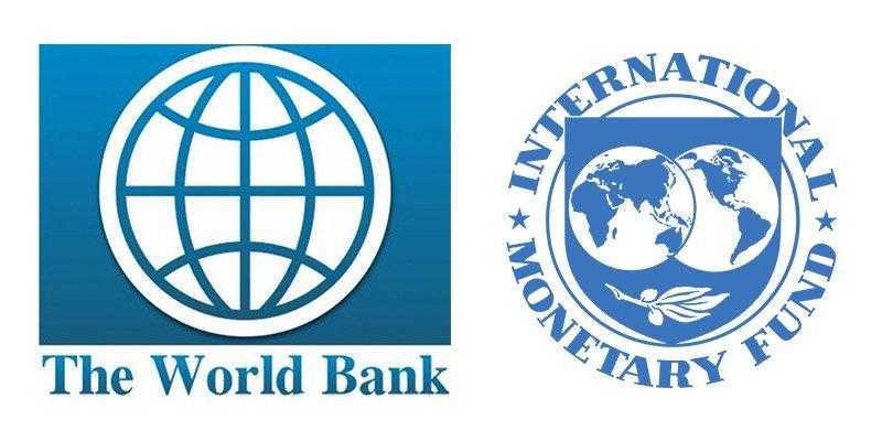 صندوق بین المللی پول و بانک جهانی مانند سازمان ملل، بعد از جنگ جهانی دوم بنا نهاده شده اند.