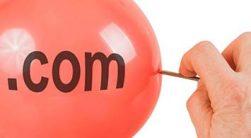 حباب دات کام یا همان حباب اینترنتی درسی بسیار آموزنده است.