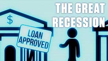 رکود بزرگ مالی یا Great Recession در دسامبر 2007 شروع شد.این دوره رکود اقتصادی آمریکا بعد از فروپاشی اقتصاد در سال 1929 و ایجاد جنگ جهانی دوم، بزرگترین فاجعه رکود اقتصادی جهانی می باشد که در تاثیر بدهی های بی ثبات به وجود آمد.