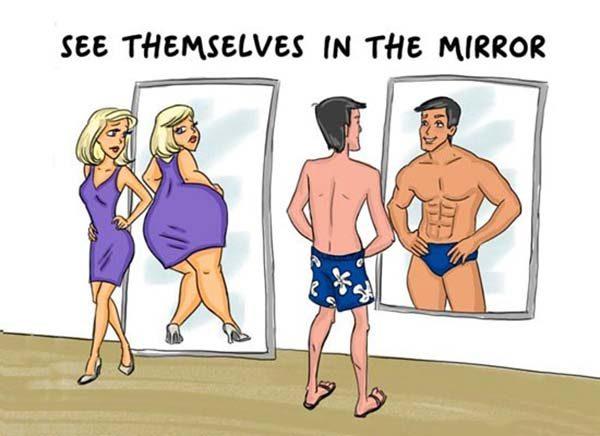 12 تفاوت مرد و زن که نمیدانستید