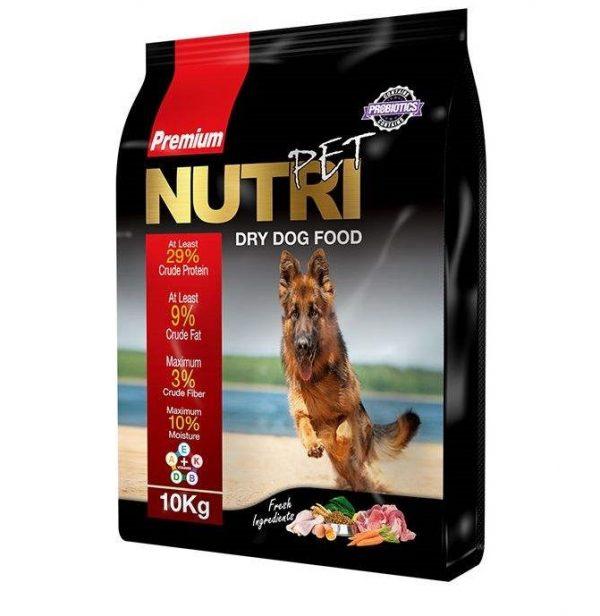 غذای خشک پروبیوتیک سگ نوتری پت مدل Premium 29 Percent