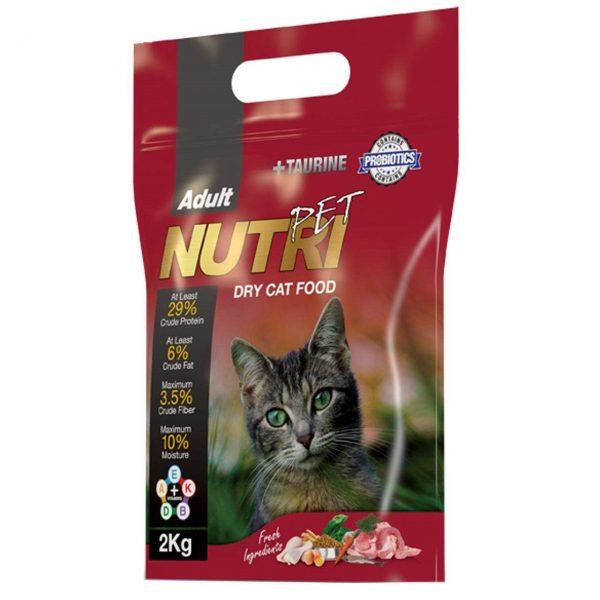 غذای خشک گربه مدل نوتری پت