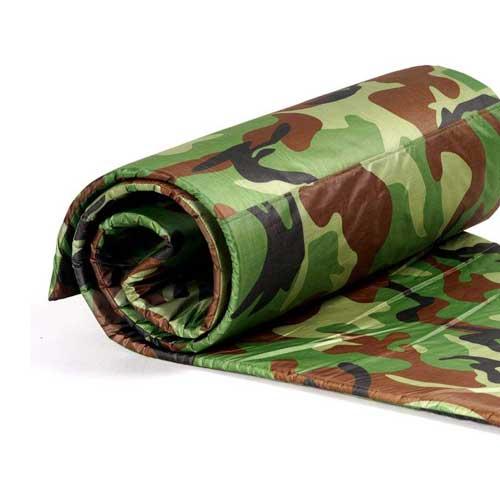 زیرانداز کیسه خواب گرانیت طرح ارتشی