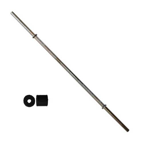میله هالتر مدل S180 استیل سایز 180 سانتیمتر