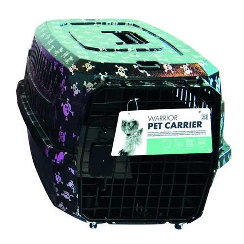 باکس حمل سگ و گربه ام پتس مدل Warrior