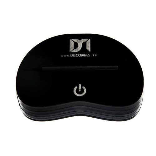چراغ خواب سه بعدی گالری دکوماس طرح گوی برفی کد DMS118